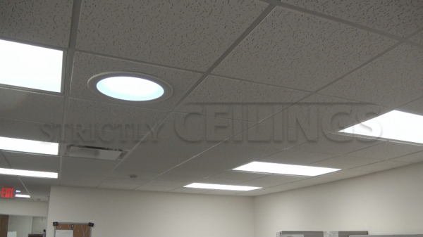 basic drop ceiling tile showroom | low cost drop ceiling tiles
