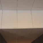 USG Astro 2x4 #8247 Acoustical ceiling tile in vertical drop