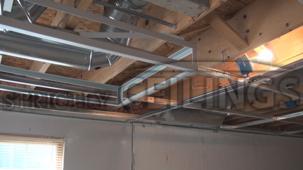 basement tips for covering ductwork drop ceiling basement tips