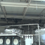 FRP Drop Ceiling Tile In Bio Chemical Plant