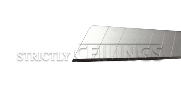 Stanley replacement blade are extremely thin and sharp for cutting ceiling tiles
