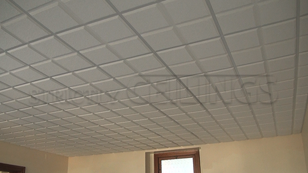 High-End Drop Ceiling Tile : Commercial and Residential Ceiling Installation : 2x2 u0026 2x4 Quality ...
