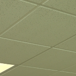 2x4 Armstrong Cortega Suspended Ceiling Tile Close up