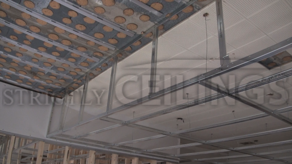 Gypsum Board Suspended Ceiling System : Usg suspended gypsum ceiling details integralbook