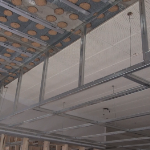 how to build a drop ceiling soffit