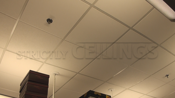 Armstrong 2x4 Dune #2722 Ceiling Tile In Retail Shop