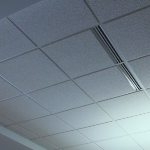 USG Eclipse 2x2 Ceiling Tile in Office Area