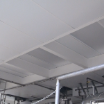 Waterproof FRP Ceiling Tile In Pro Biotics Factory