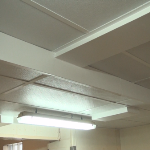 FRP Ceiling Tile In Food Prep Area Of Usingers Sausage Plant
