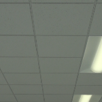 USG 2x2 Frost #415 Fire Rated Suspended Ceiling Tile