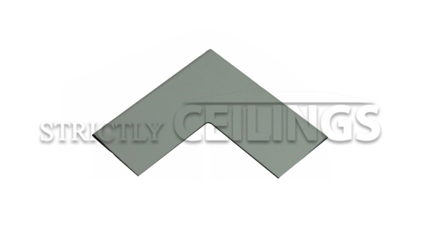 "Pre-cut wall angle corner plate for Drop ceilings is easily to install of 15/16"" wall angle"