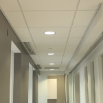 Certainteed Symphony M Picture Of Drop Ceiling Tile In Hallway