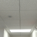 Acoustical Ceiling Tile #560 USG Fissured