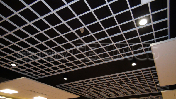 4 Level Suspended Ceiling Grid Design with 15/16 & 9/16 Grid - 15/16