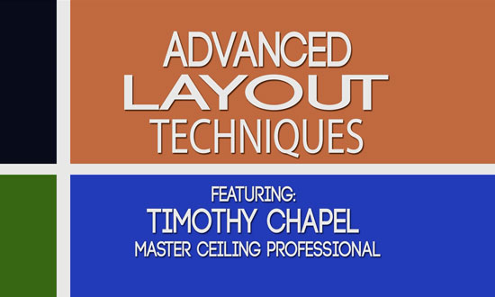 Ceiling Tile Layout Advanced