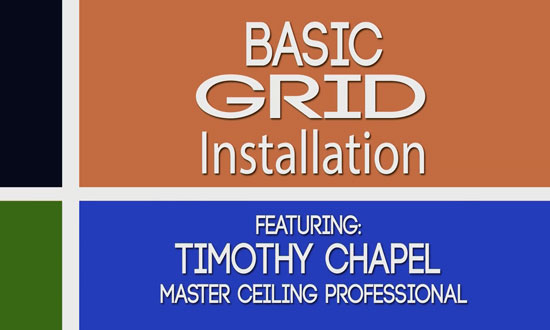 Learn Drop Ceiling Grid Installation In 20 Minutes!