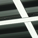 Closeup Of a Drywall ceiling grid frame member