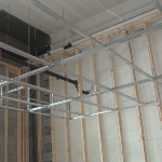 Drywall ceiling grid frame members